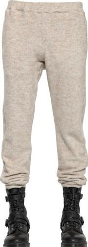 08 Sircus , Cotton & Mohair Fleece Jogging Trousers