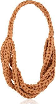 Alienina , Braided Cotton Rope Necklace