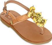 Bonbon , Be Happy Leather Sandals