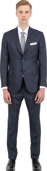 Brioni , Wool And Silk Blend Suit