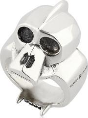 Cantini Mc Firenze , Kong Skull Sterling Silver Ring
