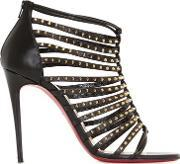 Christian Louboutin , 100mm Millaclou Spike Leather Cage Boots