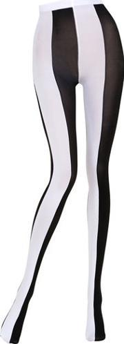 Emilio Cavallini , Two Tone Striped Microfiber Tights