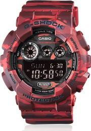 Gshock , Absolute Red Camouflage Digital Watch