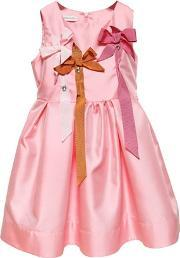 I Pinco Pallino , Mikado Dress W Grosgrain Bows