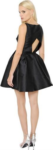 Ingie , Cut Out Embroidered Duchesse Dress