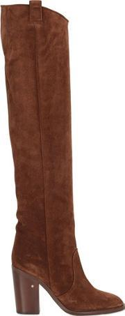 Laurence Dacade , 100mm Over The Knee Suede Boots