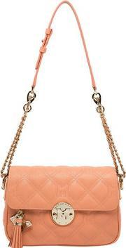 Metrocity , Quilted Leather Shoulder Bag