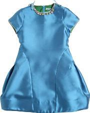 Mimisol , Mikado Dress With Crystal Necklace