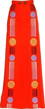 Peter Pilotto , Embroidered Cady Skirt