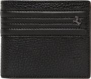 Tods Ferrari , Textured Leather Coin Pocket Wallet