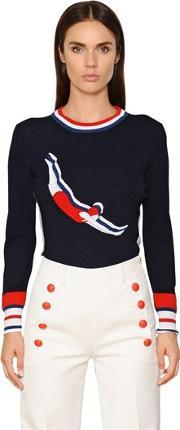 Tommy Hilfiger Collection , Diving Women Knit Sweater