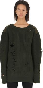 Yeezy , Destroyed Wool Sweater