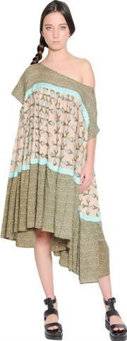 Yvonne S , Printed Cotton Voile Dress