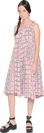 Yvonne S , Printed Light Cotton Voile Dress