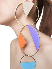 Sylvio Giardina , Collezione Three 3 Big Circle Earrings
