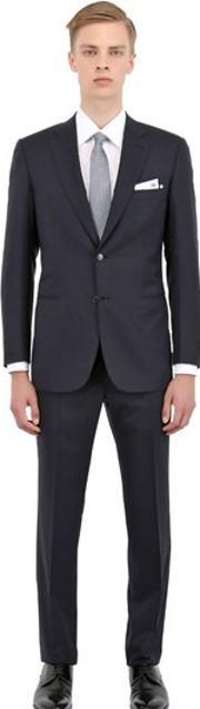 Brioni , Tropical Stretch Wool Slim Fit Suit