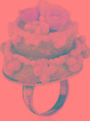 Les Delices De Rose , Wedding Cake Ring