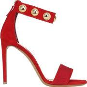Alexandre Vauthier , 100mm Studded Suede Sandals