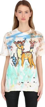 Patricia Field Art Fashion , Scooter Laforge Hand Painted T Shirt