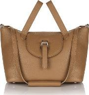 Meli Melo , Thela Medium Tote Bag Light Tan