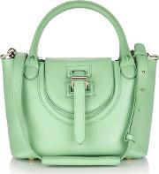 Meli Melo , Halo Mini Cross Body Bag Pistachio Green