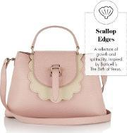 Meli Melo , Flavia Cross Body Bag Orchid Scallop