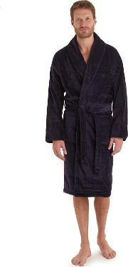 Moss Bros , Ted Baker Navy Cotton Dressing Gown