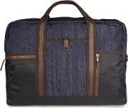 French Connection , Black Denim Look Holdall
