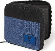 French Connection , Blue Canvas Wallet