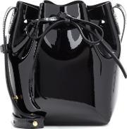 Mansur Gavriel , Mini Mini Patent Leather Bucket Bag