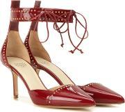 Francesco Russo , Embellished Patent Leather Pumps