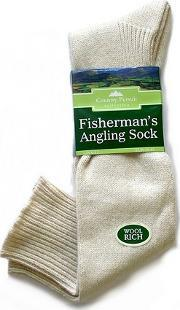 David James , Fisherman Rsquo S Full Length Angling Sock