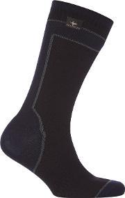 Sealskinz , Mid Weight Mid Length Sock With Hydrostop Sock