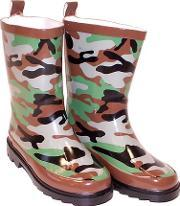 Storm Wells , Kids Camouflage Wellies