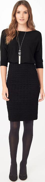 Phase Eight , Adele Textured Knit Dress