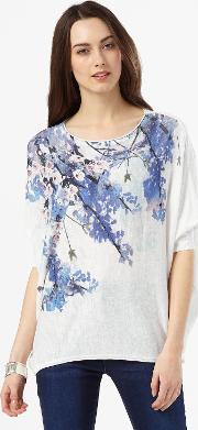 Phase Eight , Aria Trailing Floral Knit