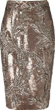 Phase Eight , Nasia Short Sequin Skirt