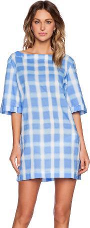 Marc By Marc Jacobs , Blurred Gingham Lawn Courtney Tunic