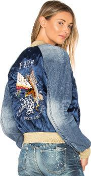 Prps Goods & Co , Embroidered Bomber Jacket