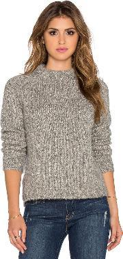 James Perse , Stand Up Collar Sweater