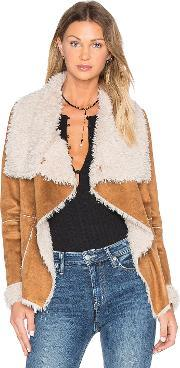Cupcakes And Cashmere , Lesya Jacket With Faux Fur