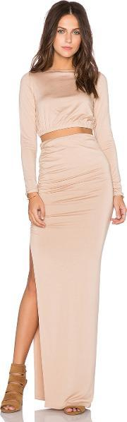Rachel Pally , X Revolve Ruched Crop Top & Skirt