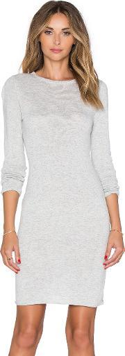 Callahan , Crewneck Long Sleeve Dress