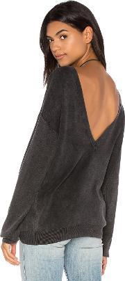 Callahan , Deep V Back Sweater