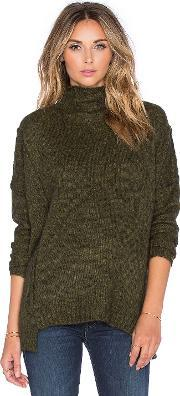 Soh , Funnel Neck Pullover Sweater