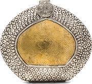 From St Xavier , Amber Clutch