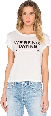 A Fine Line , Brothers Not Dating Crop Tee
