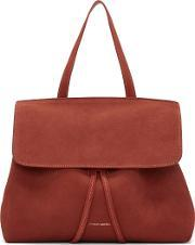 Mansur Gavriel , Red Suede Mini Lady Bag