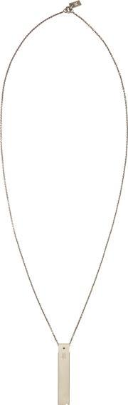Nils , Nil S Silver Stainless Usb Necklace